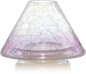 Preview: Savoy Purple Crackle Glass Großer Schirm und Teller Yankee Candle