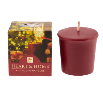 Heart & Home Home for Christmas Votivkerze 52g