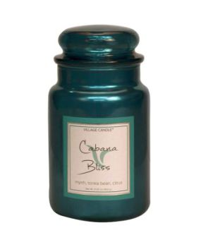 Village Candle Cabana Bliss METALLIC 602g