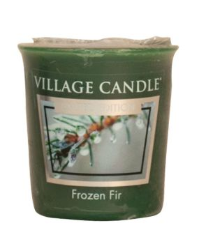 Village Candle Frozen Fir Votivkerze