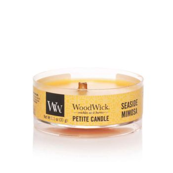 Seaside Mimosa Petite Candle von WoodWick