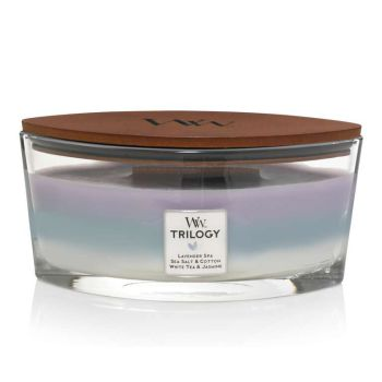 WoodWick Trilogy Calming Retreat Ellipse 454g