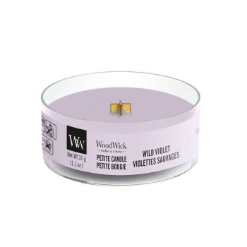 WoodWick Wild Violet Petite Candle