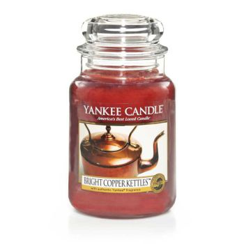 Yankee Candle Bright Copper Kettles 623g