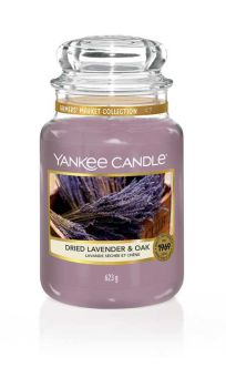 Yankee Candle Dried Lavender & Oak 623g