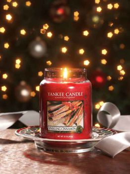 Yankee Candle Sparkling Cinnamon 623g