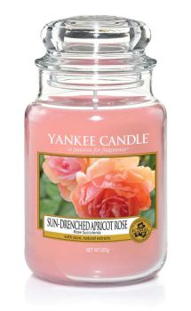 Yankee Candle Sun-Drenched Apricot Rose 623g