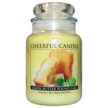 Cheerful Candle Lemon Butter Pound Cake 680g