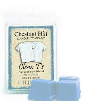 Chestnut Hill Candle Clean T´s 85g Duftwachs