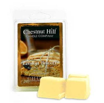 Chestnut Hill Candle Lemon Biscotti 85g Duftwachs