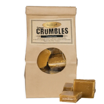 Crossroads Candles Caramel Latte Crumbles Duftwachs 170g
