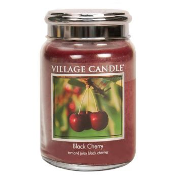 Village Candle Black Cherry 602g