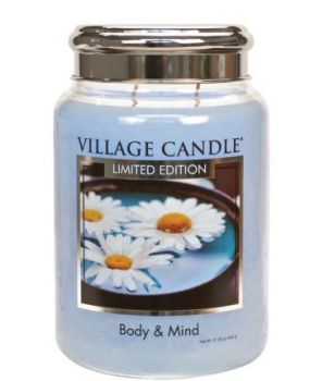 Village Candle Body & Mind SPA 602g TRADITION