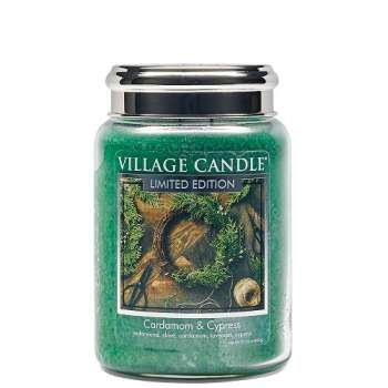 Village Candle Cardamom & Cypress 602g TRADITION