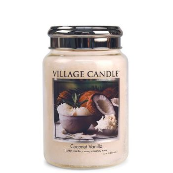 Village Candle Coconut Vanilla 602g TRADITION