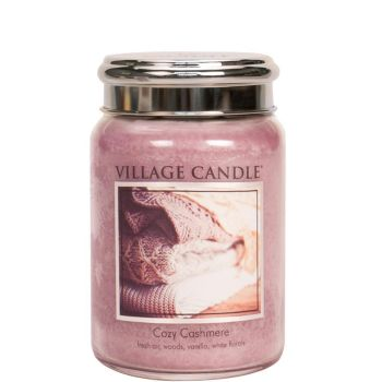 Village Candle Cozy Cashmere 602g TRADITION