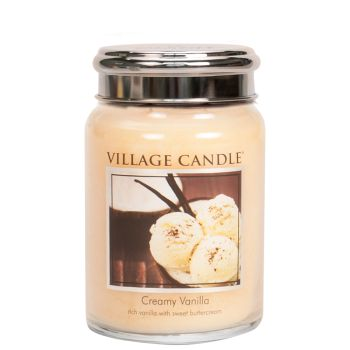 Village Candle Creamy Vanilla 602g TRADITION