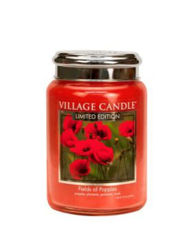 Village Candle Fields of Poppies 602g TRADITION