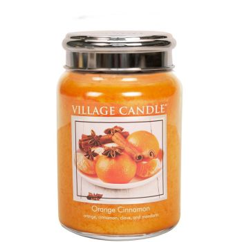 Village Candle Orange Cinnamon 602g TRADITION