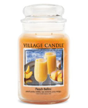 Village Candle Peach Bellini 602g TRADITION