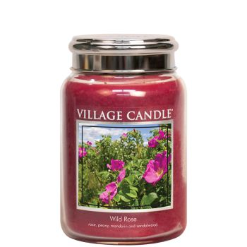 Village Candle Wild Rose TRADITION 602g