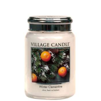 Village Candle Winter Clementine 602g TRADITION