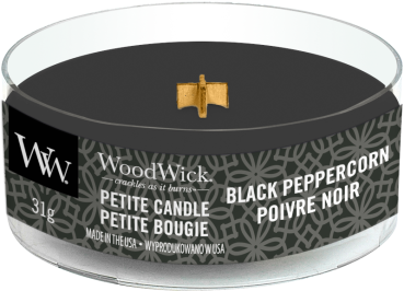 WoodWick Black Peppercorn Petite Candle