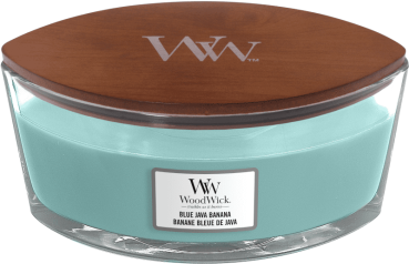WoodWick Blue Java Banana Ellipse 454g