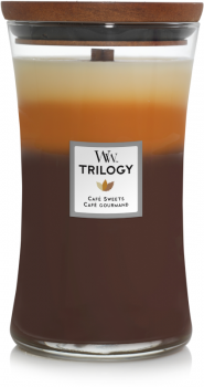 WoodWick Trilogy Cafe Sweets 610g