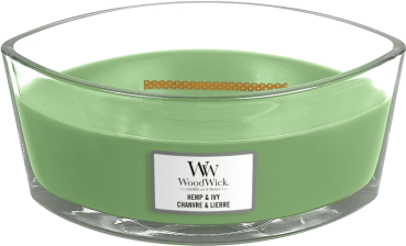 WoodWick Hemp & Ivy Ellipse 454g