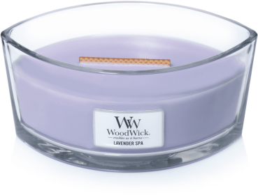WoodWick Lavender Spa Ellipse 454g