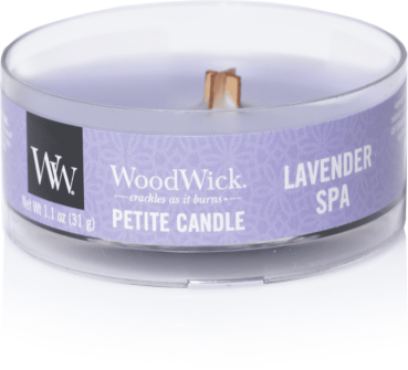 WoodWick Lavender Spa Petite Candle