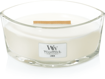 WoodWick Linen Ellipse 454g
