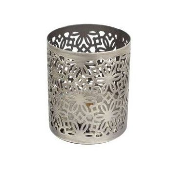 WoodWick Petite Holder Brushed Nickel