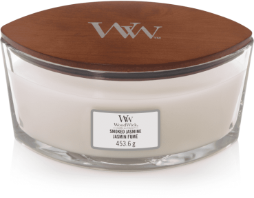 WoodWick Smoked Jasmine Ellipse 454g