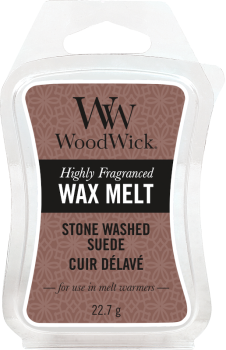 WoodWick Stone Washed Suede Melt