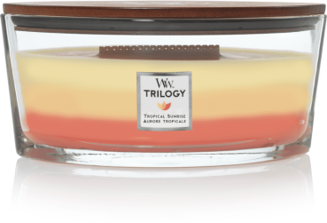 WoodWick Trilogy Tropical Sunrise Ellipse 454g
