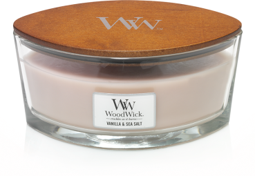 WoodWick Vanilla & Sea Salt Ellipse 454g