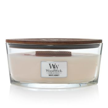 WoodWick White Honey Ellipse 454g