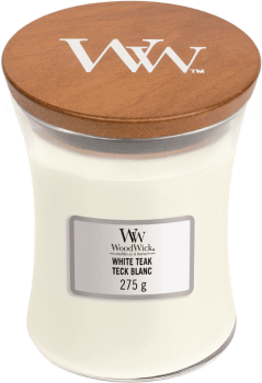 WoodWick White Teak 275g