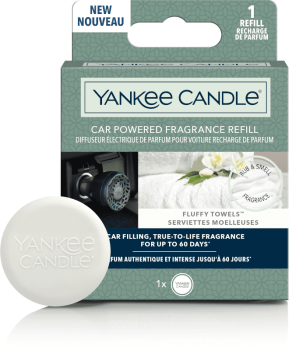 Yankee Candle Fluffy Towels Car Diffuser Nachfüller
