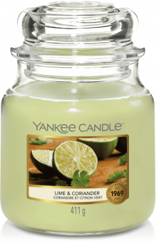 Yankee Candle Lime & Coriander 411g