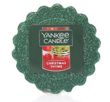 Yankee Candle Christmas Thyme Tart US-EIGENIMPORT