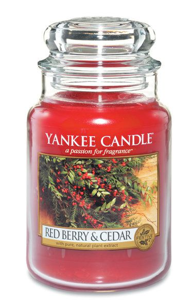 Yankee Candle Red Berry and Cedar 623g TREASURE