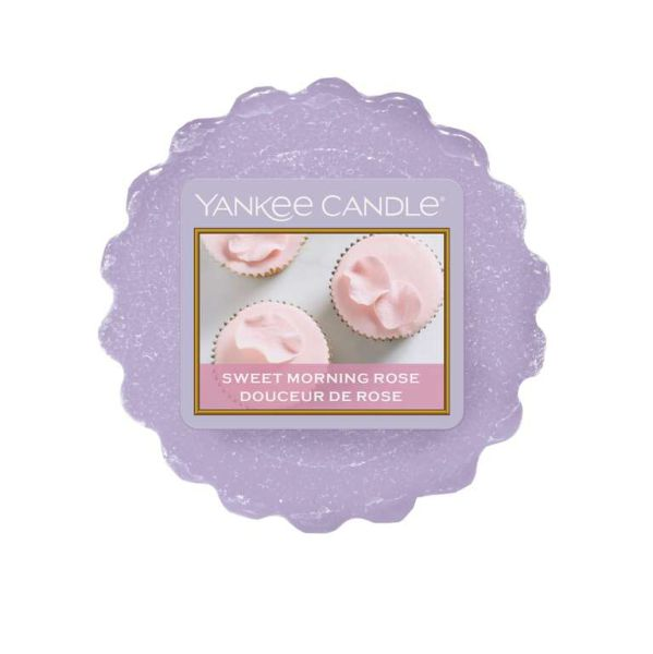 Yankee Candle Sweet Morning Rose Tart