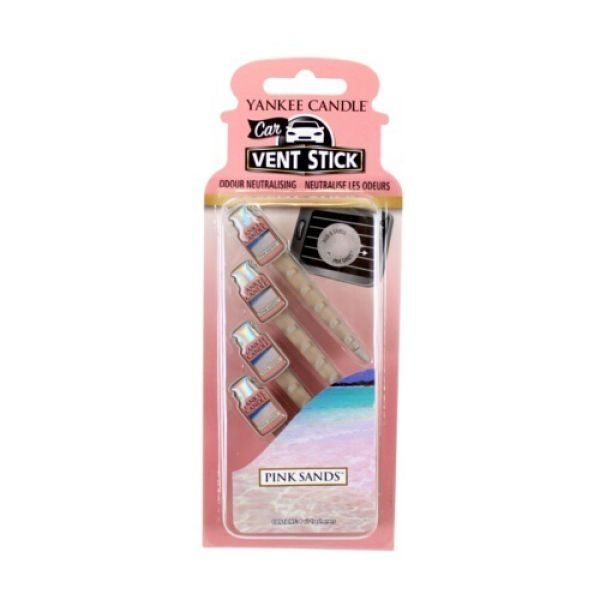 Yankee Candle Pink Sands Car Vent Stick