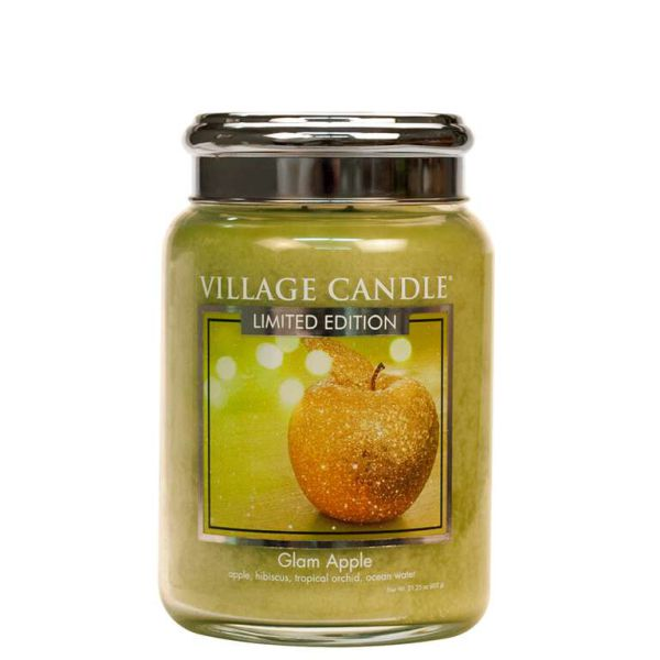 Village Candle Glam Apple 602g Kerze TRADITION