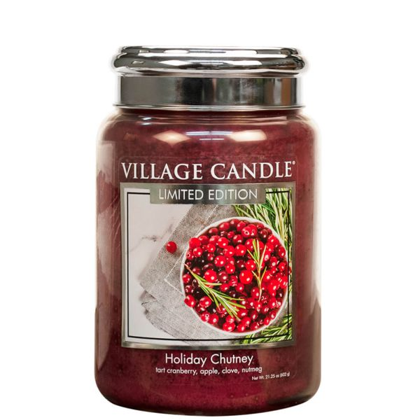 Village Candle Holiday Chutney 602g Kerze
