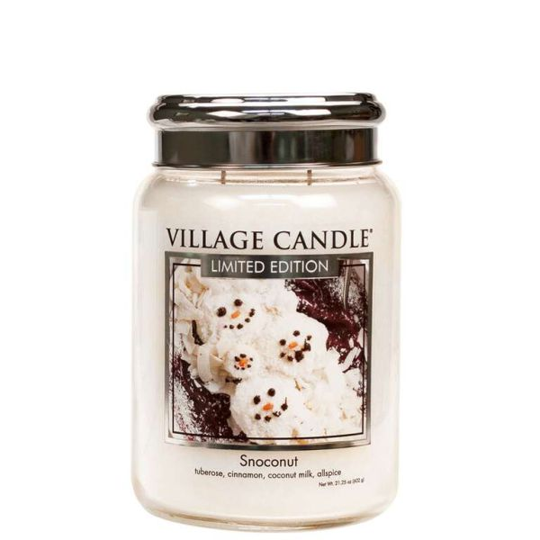 Village Candle Snoconut 602g Kerze TRADITION