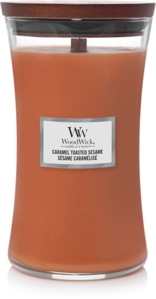 WoodWick Caramel Toasted Sesame 610g